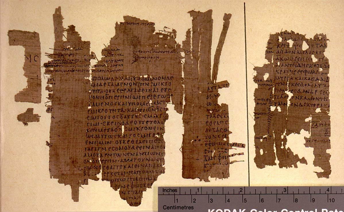 Platons manuskript