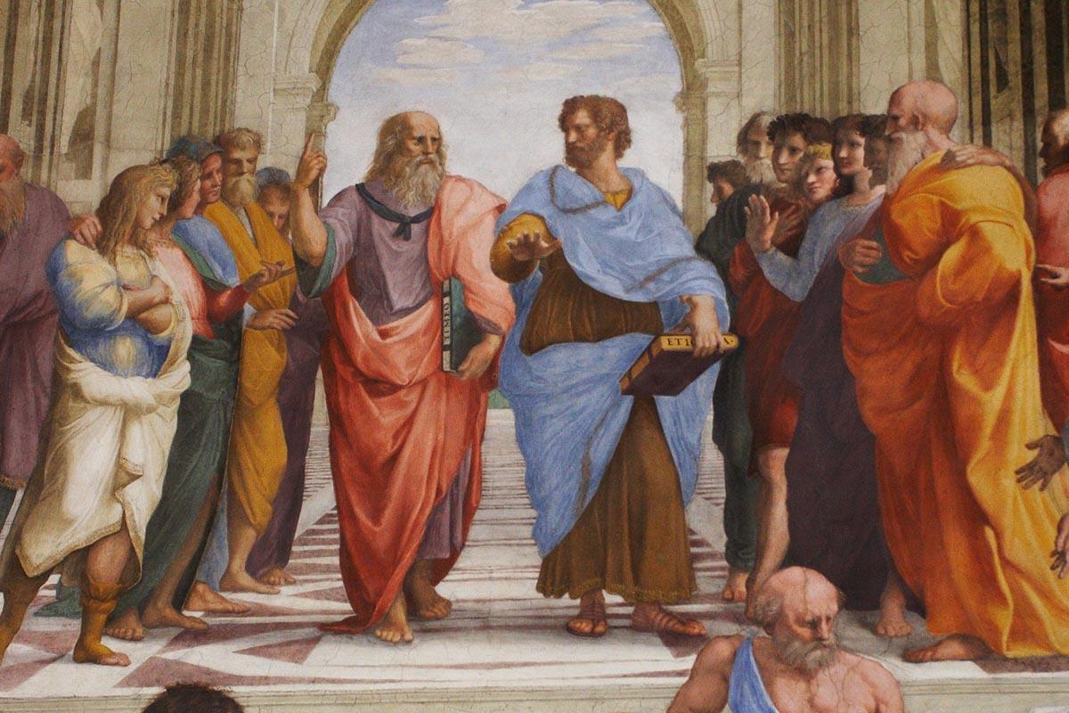 Platon och Aristoteles